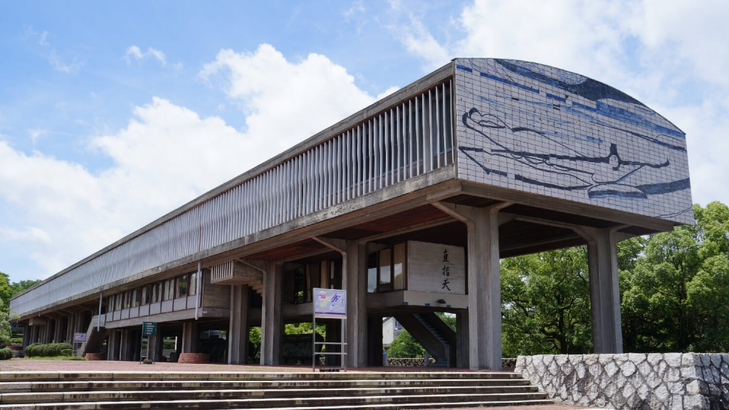愛知県立芸術大学の講義棟